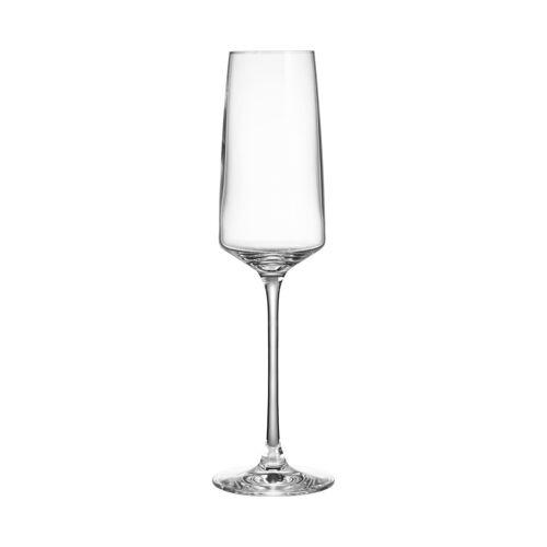 BUTLERS Champagnerglas »WINE & DINE Champagnerflöte 250 ml«, Kristallglas