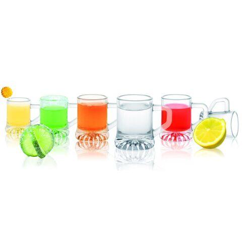 Sendez Schnapsglas »6 Schnapsgläser Tequilagläser Gläser mit Henkel Schnapsglas Shots Wodkagläser«, Glas