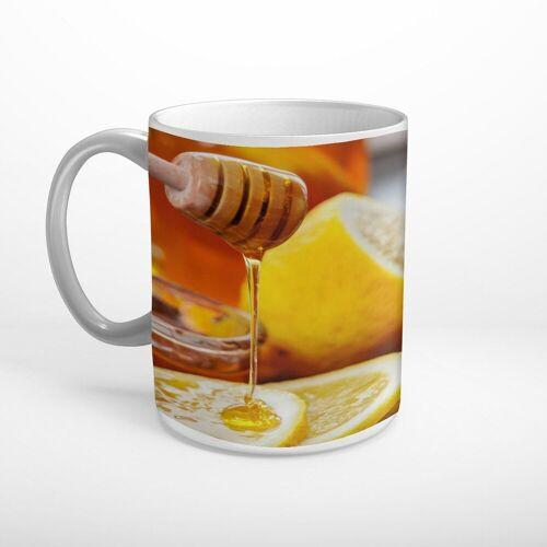 DesFoli Tasse »Honig Zitronen T0603«, Keramik