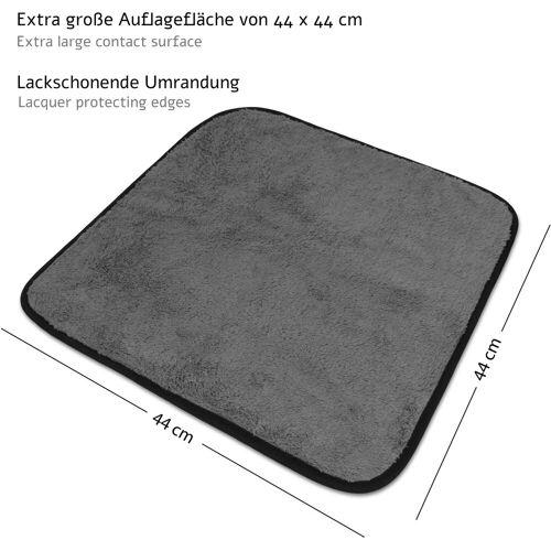 normani Spültuch »6 Stück Poliertuch Superflausch-Mikrofasertuch«, Poliertuch aus superflausch-Mikrofaser
