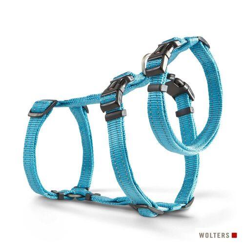 Wolters Hunde-Geschirr »Ausbruchssicheres Soft & Safe No Escape«, Nylon, aqua XS - 30 cm - 40 cm;M - 50 cm - 70 cm;L - 70 cm - 100 cm