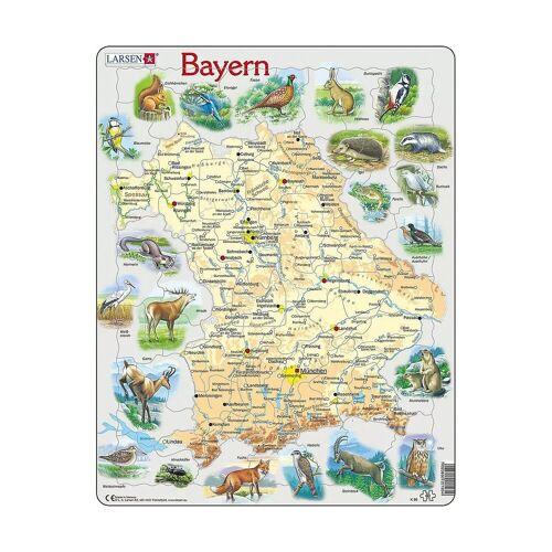 Larsen Puzzle »Rahmen-Puzzle, 60 Teile, 36x28 cm, Bayern«, Puzzleteile