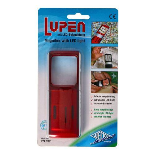WEDO LED Taschenlampe »Lupe mit LED-Beleuchtung und 3fach Vergrösserung F«
