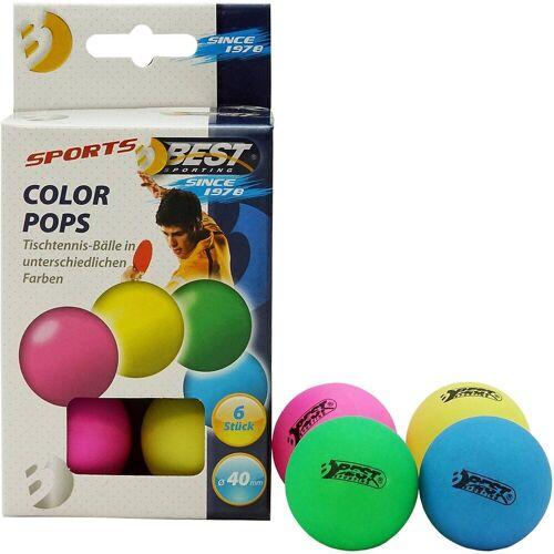Best Sporting Tischtennisball »Tischtennisbälle Colour Pops«