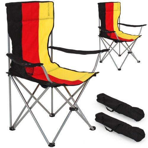 tectake Campingstuhl »2 Campingstühle«