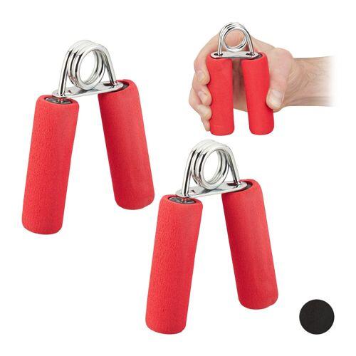 relaxdays Handmuskeltrainer »Fingertrainer 2er Set«
