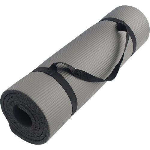 Schildkröt-Fitness Fitnessmatte »Fitnessmatte 10mm, grau«
