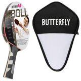 Butterfly Tischtennisschläger »1x Timo Boll Platin 85025 + Cell Case 1«