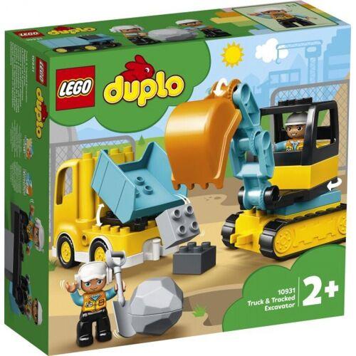 Lego Puzzle »DUPLO® 10931 Bagger und Laster«, Puzzleteile