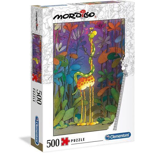 Clementoni® Puzzle »Puzzle 500 Teile Mordillo Collection - Der Lover«, Puzzleteile