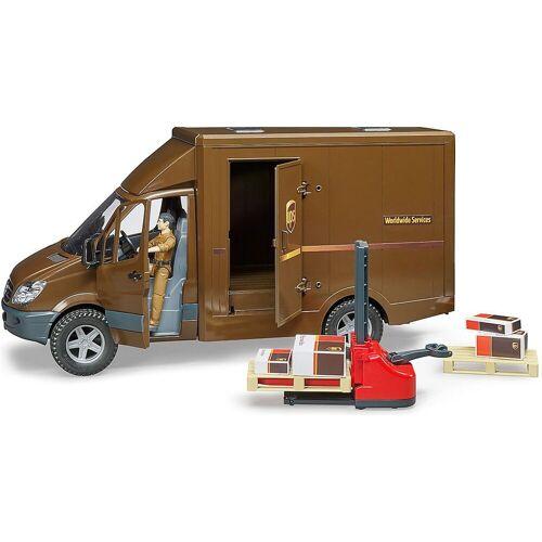 Bruder® Spielzeug-Auto »MB Sprinter UPS mit Fahrer und Zubehör«