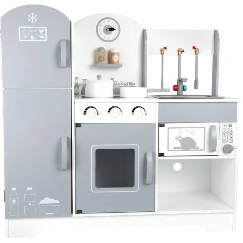 Small Foot Kinder-Kühlschrank »Kinderküche mit Kühlschrank«, (10-tlg)