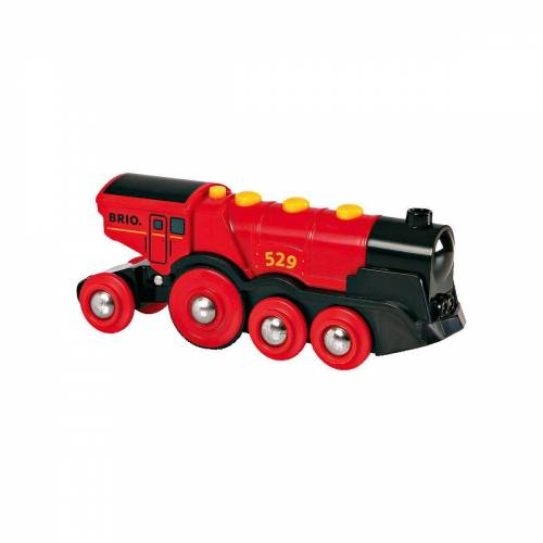 Brio Spielzeug-Eisenbahn »Rote Lola Batterielok«