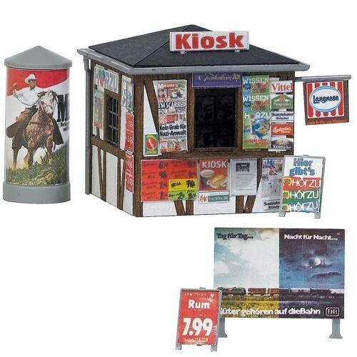 Busch Modelleisenbahn-Set »Modelleisenbahn Fachwerkkiosk - Spur H0«