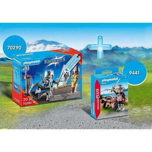 Playmobil Spielfigur »-Set Ritter: 70290 Geschenkset Ritter +«