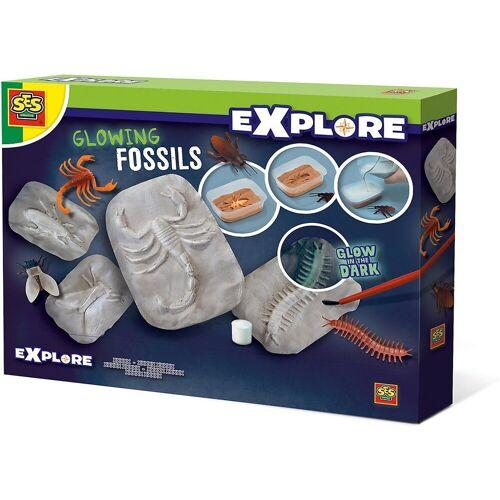 Creative SES Creative Lernspielzeug »Leuchtende Fossilien«