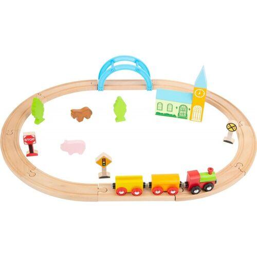 Small Foot Spielzeug-Eisenbahn »Holzeisenbahn Stadt und Land«