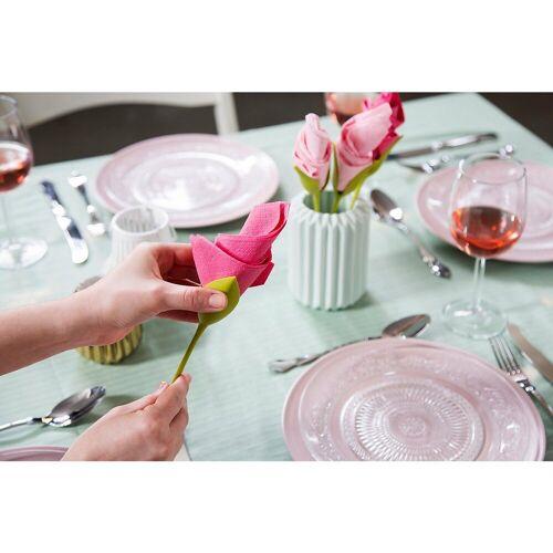 "PELEG DESIGN® Serviettenhalter »4er-Set Serviettenhalter ""Blume""«"