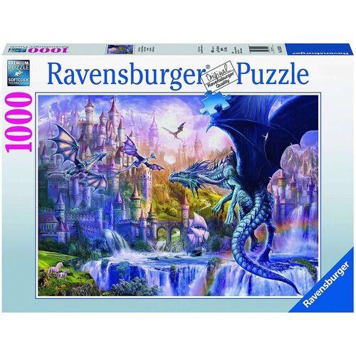Ravensburger Puzzle »Puzzle Drachenschloss, 1.000 Teile«, Puzzleteile