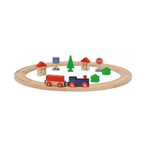 Eichhorn Spielzeugeisenbahn-Set »Eisenbahn - Set, Kreis mit Zubehör, 20 tlg.«