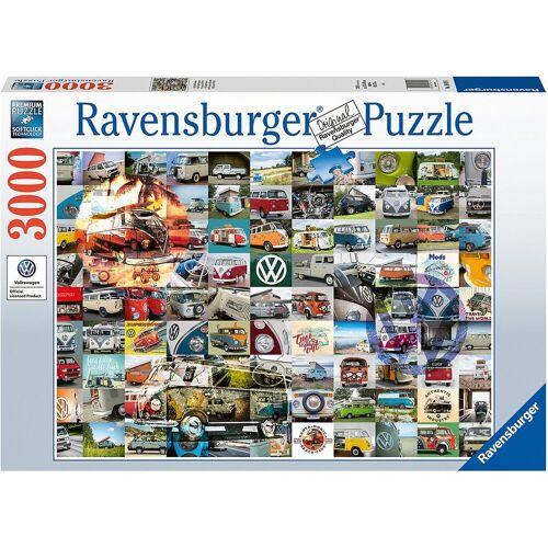 Ravensburger Puzzle »99 Bulli Moments, 3.000 Teile«, Puzzleteile