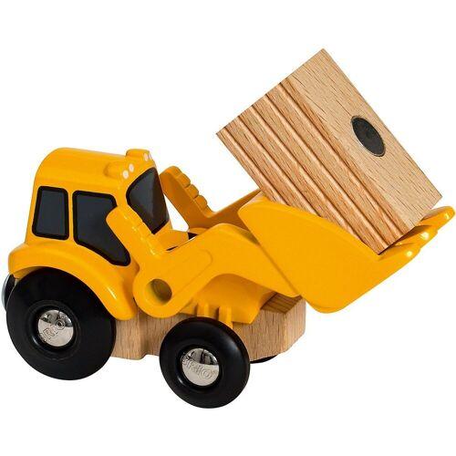 Brio Spielzeug-Eisenbahn »Frontlader mit Magnetladung«