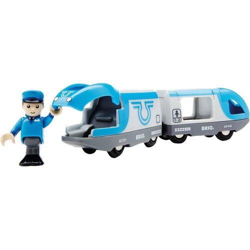 Brio Spielzeug-Eisenbahn »Blauer Reisezug (Batteriebetrieb)«