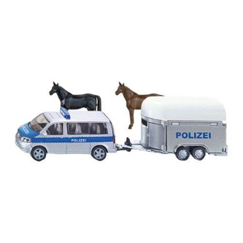 Siku Spielzeug-Auto »2310 Polizei PKW mit Pferdeanhänger 1:55«