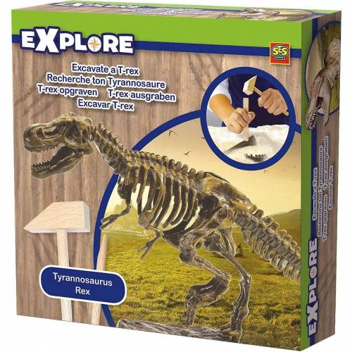 Creative SES Creative Lernspielzeug »T-Rex ausgraben (Ausgrabungsset)«
