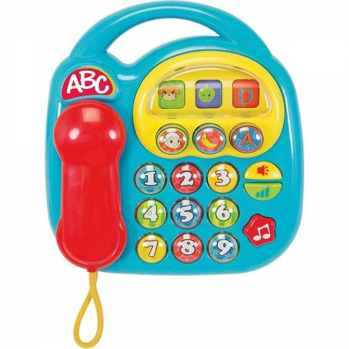 SIMBA Spieltelefon »ABC - Telefon, blau«