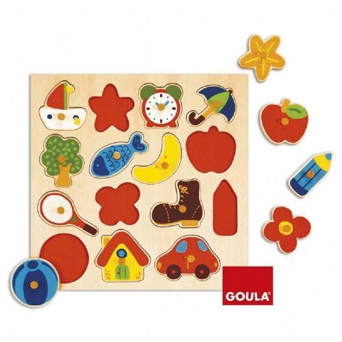 Goula Puzzle »Puzzles bis 500 Teile GOU-53023«, 15 Puzzleteile