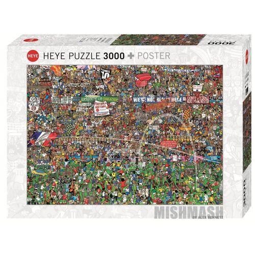 HEYE Puzzle »29205 Alex Bennett Football History 3000 Teile Puzzle«, 3000 Puzzleteile