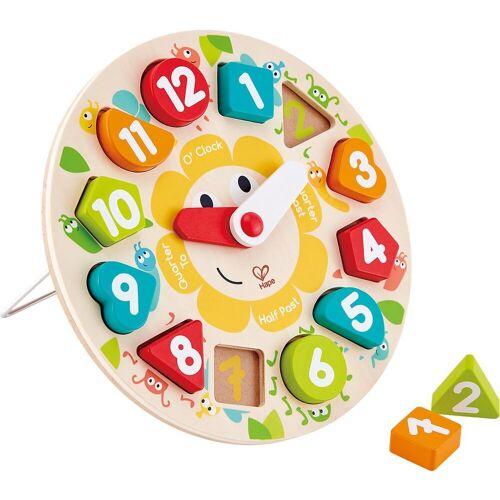Hape Steckpuzzle »Steckpuzzle Uhr«, Puzzleteile