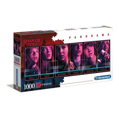 Clementoni® Puzzle »39548 Stranger Things 1000 Teile Panorama Puzzle«, 1000 Puzzleteile, Panorama Format