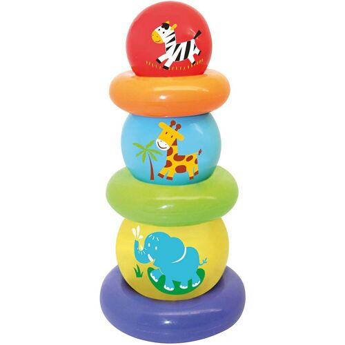 GOWI Stapelspielzeug »Ballpyramide, 6-tlg.«