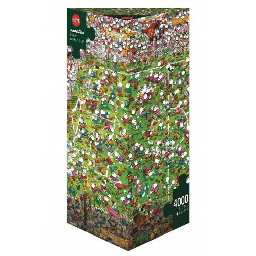HEYE Puzzle »29072 Mordillo Crazy World Cup 4000 Teile Puzzle«, 4000 Puzzleteile
