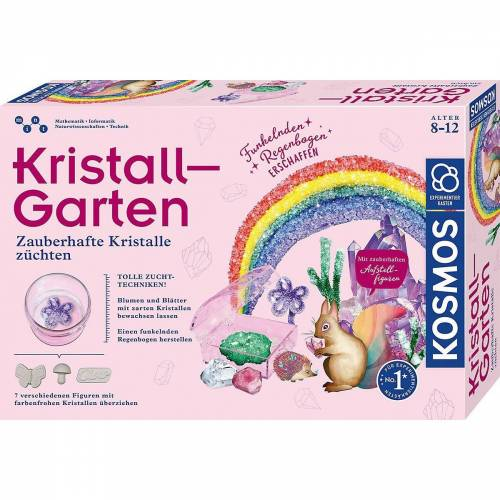Kosmos Spiel, »Kristall-Garten«