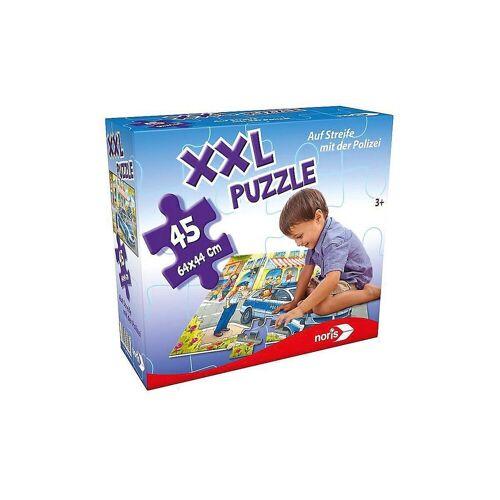 Noris Puzzle »XXL Puzzle, 45 Teile, 64x44 cm, Auf Streife mit«, Puzzleteile