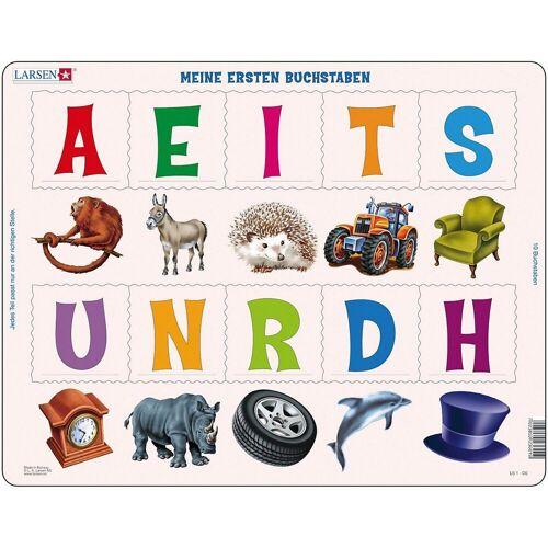 Larsen Puzzle »Rahmenpuzzle 10 Teile Meine ersten Buchstaben«, Puzzleteile