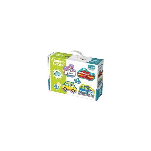 Trefl Puzzle »Baby Puzzle - Fahrzeuge (4 x 2 Teile)«, Puzzleteile