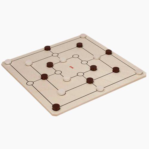 goki Spiel, Dame undf Mühle »XXL Spiele-Set Dame und Mühle «, Made in Germany