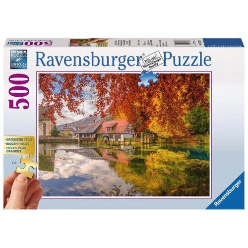Ravensburger Puzzle »Mühle Am Blautopf«, 500 Puzzleteile