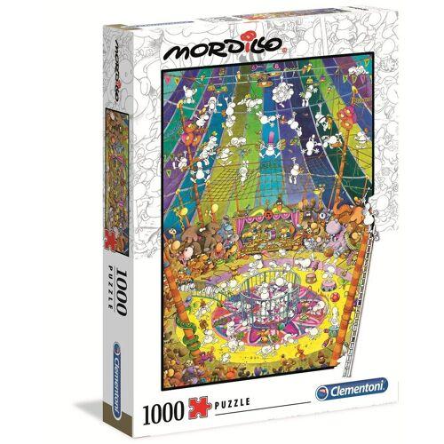Clementoni® Puzzle »39536 Mordillo Die Show 1000 Teile Puzzle«, 1000 Puzzleteile