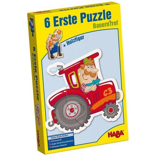 Haba Puzzle »3900 6 Erste Puzzle - Bauernhof«, Puzzleteile