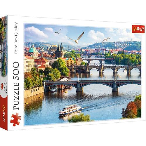 Trefl Puzzle »37382 Prag, Czech Republic 500 Teile Puzzle«, 500 Puzzleteile