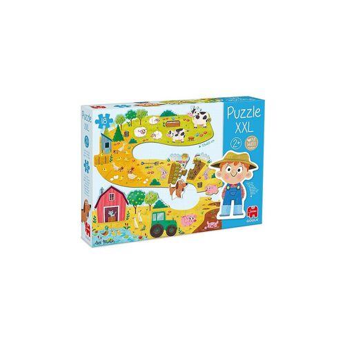 Goula Puzzle »XXL-Puzzle Bauernhof«, Puzzleteile