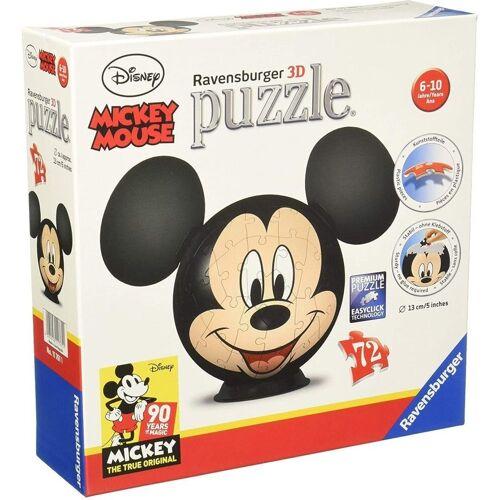 Ravensburger 3D-Puzzle »11761 Mickey Mouse 3D-Puzzle«, 72 Puzzleteile