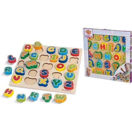 Eichhorn Steckpuzzle »Buchstaben-Steck-Puzzle, 30x30 cm«, Puzzleteile