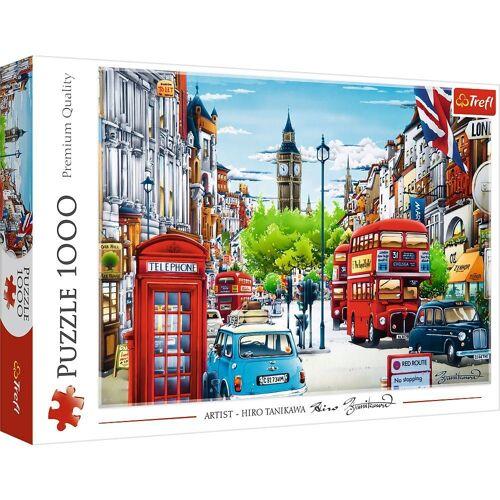Trefl Puzzle »Die Straßen von London 1000 Teile Puzzle«, 1000 Puzzleteile