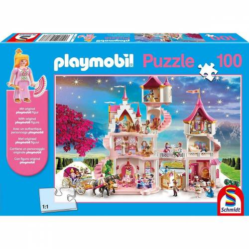 Schmidt Spiele Puzzle »Puzzle PLAYMOBIL® inkl. Playmobil-Figur,«, Puzzleteile